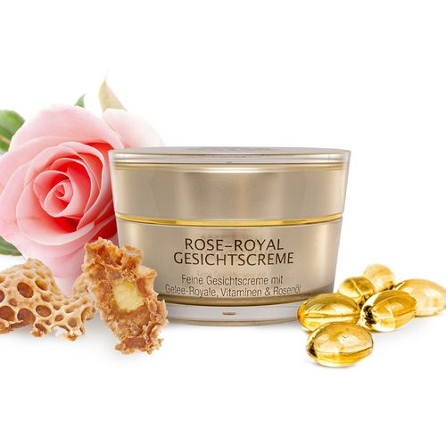 Rose-Royal Gesichtscreme, Tiegel mit 50 ml